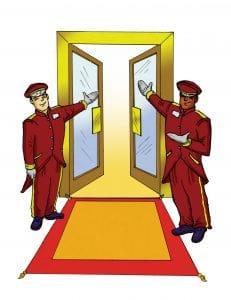 Responsive Doormen